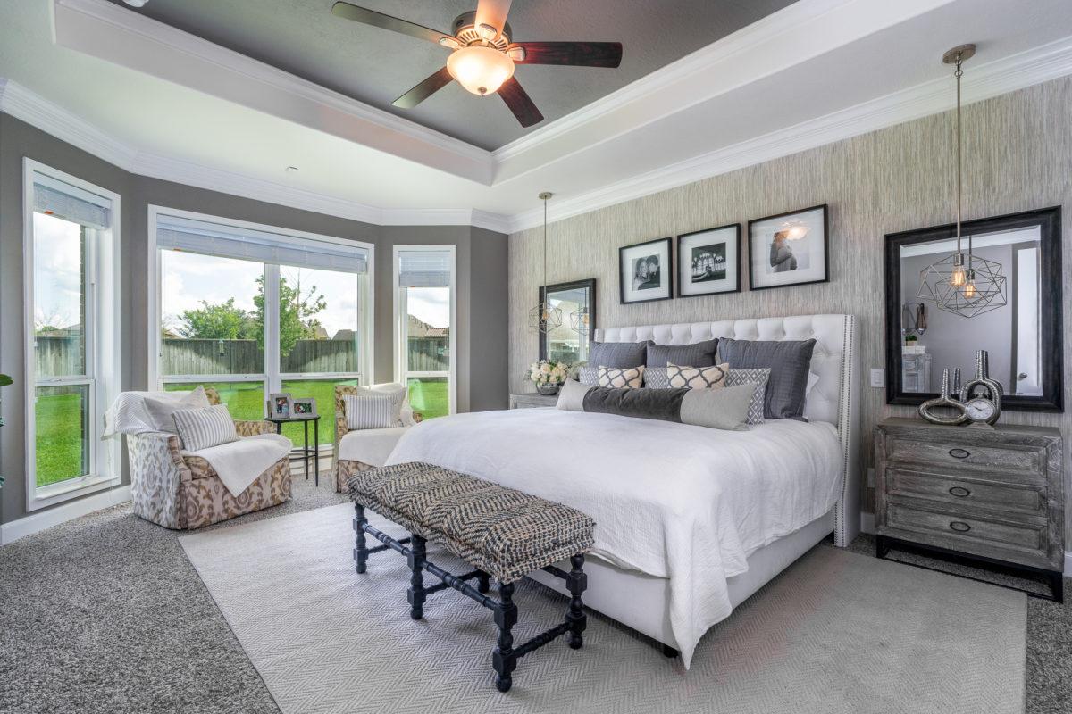master bedroom recap  melissa roberts interior  design