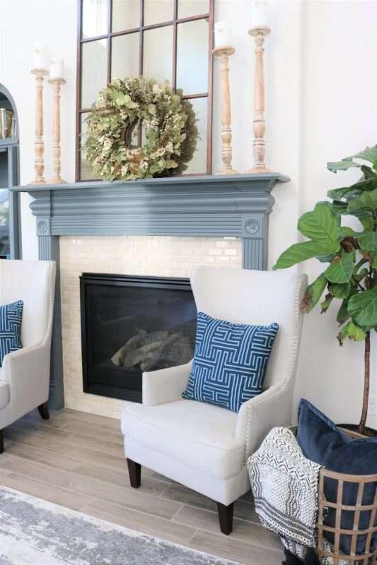 Blue Accessories Melissa Roberts Interior Design Home Decor Blog
