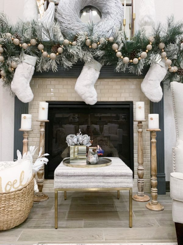 How To Decorate Your Christmas Garland Melissa Roberts Interior