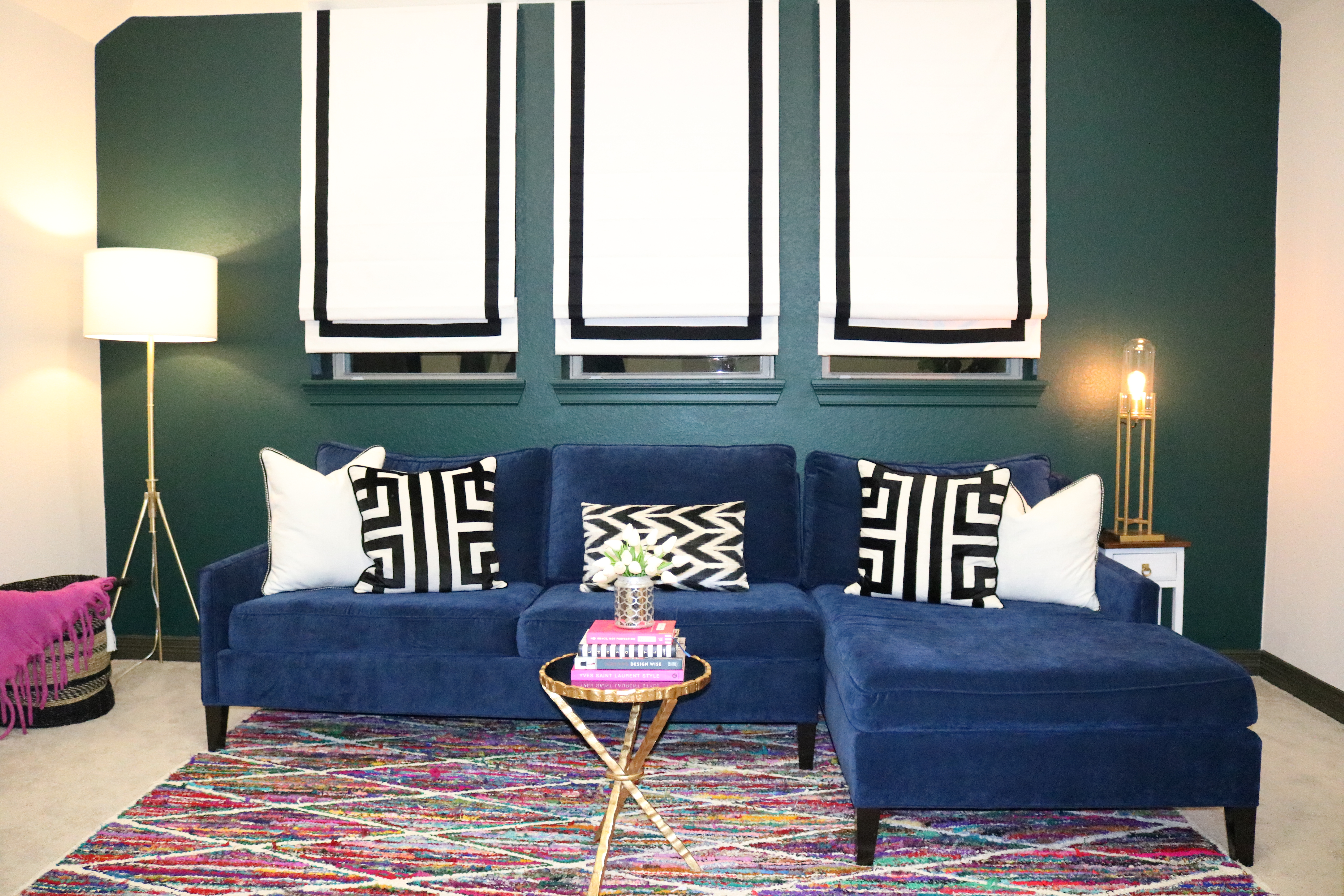 Pleasant Why You Deserve A Navy Blue Sofa Melissa Roberts Interior Ncnpc Chair Design For Home Ncnpcorg