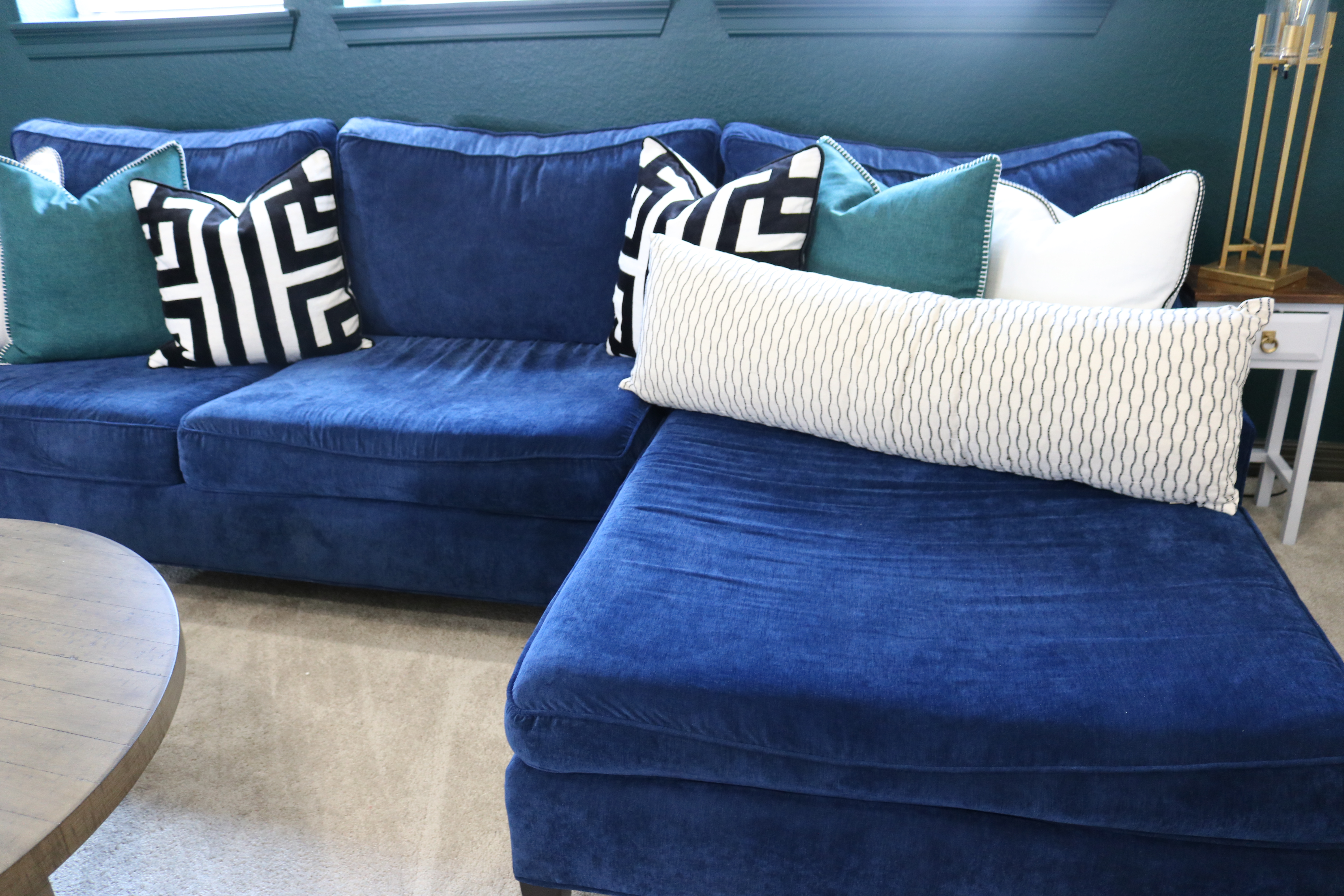 Remarkable Why You Deserve A Navy Blue Sofa Melissa Roberts Interior Ncnpc Chair Design For Home Ncnpcorg