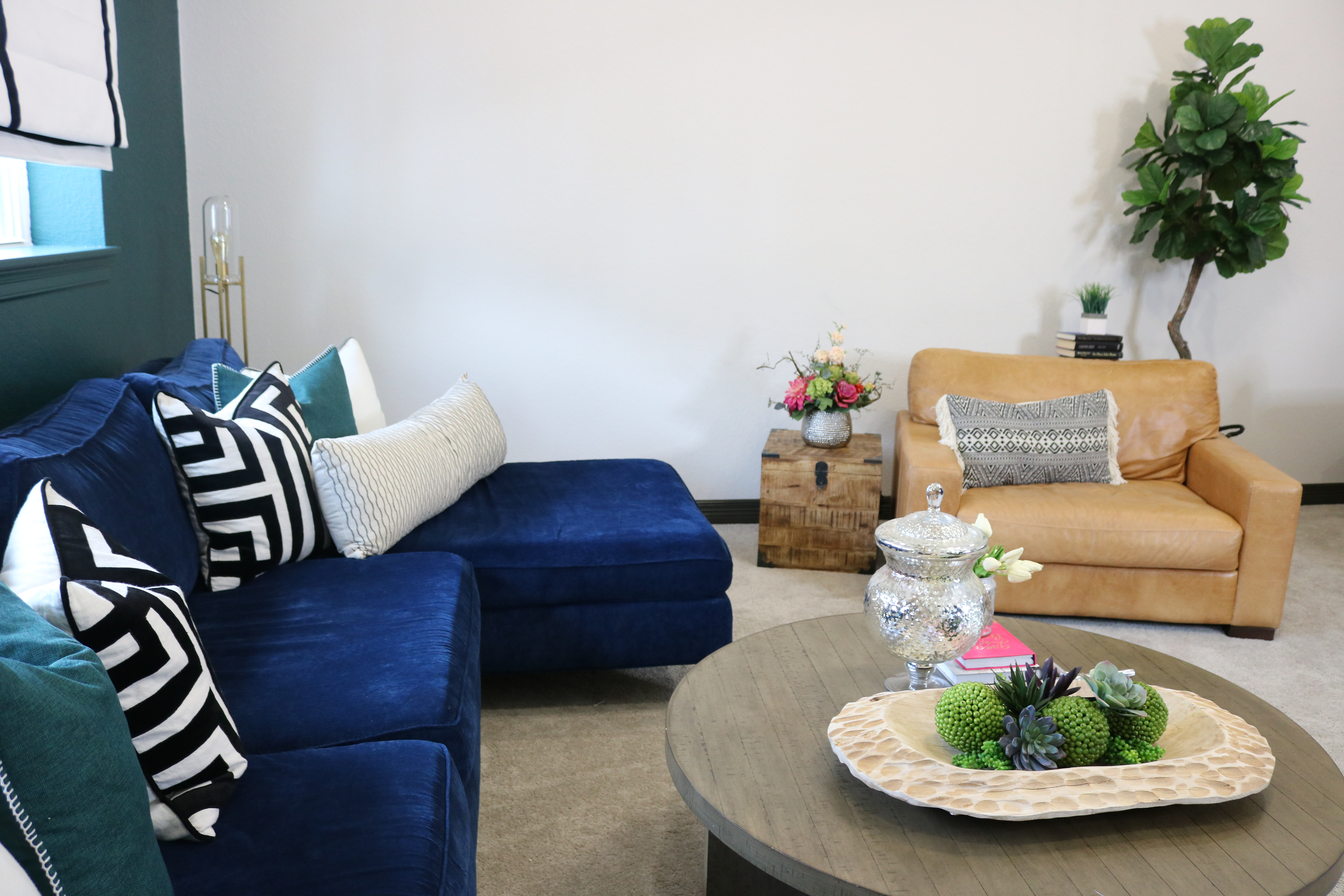 Why You Deserve A Navy Blue Sofa - Melissa Roberts Interior ...
