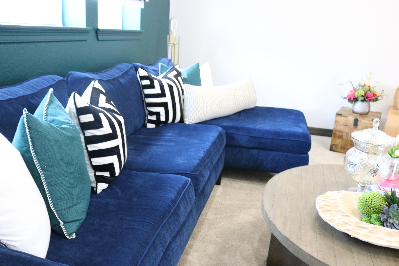 Why You Deserve A Navy Blue Sofa Melissa Roberts Interior Design Home Decor Blog