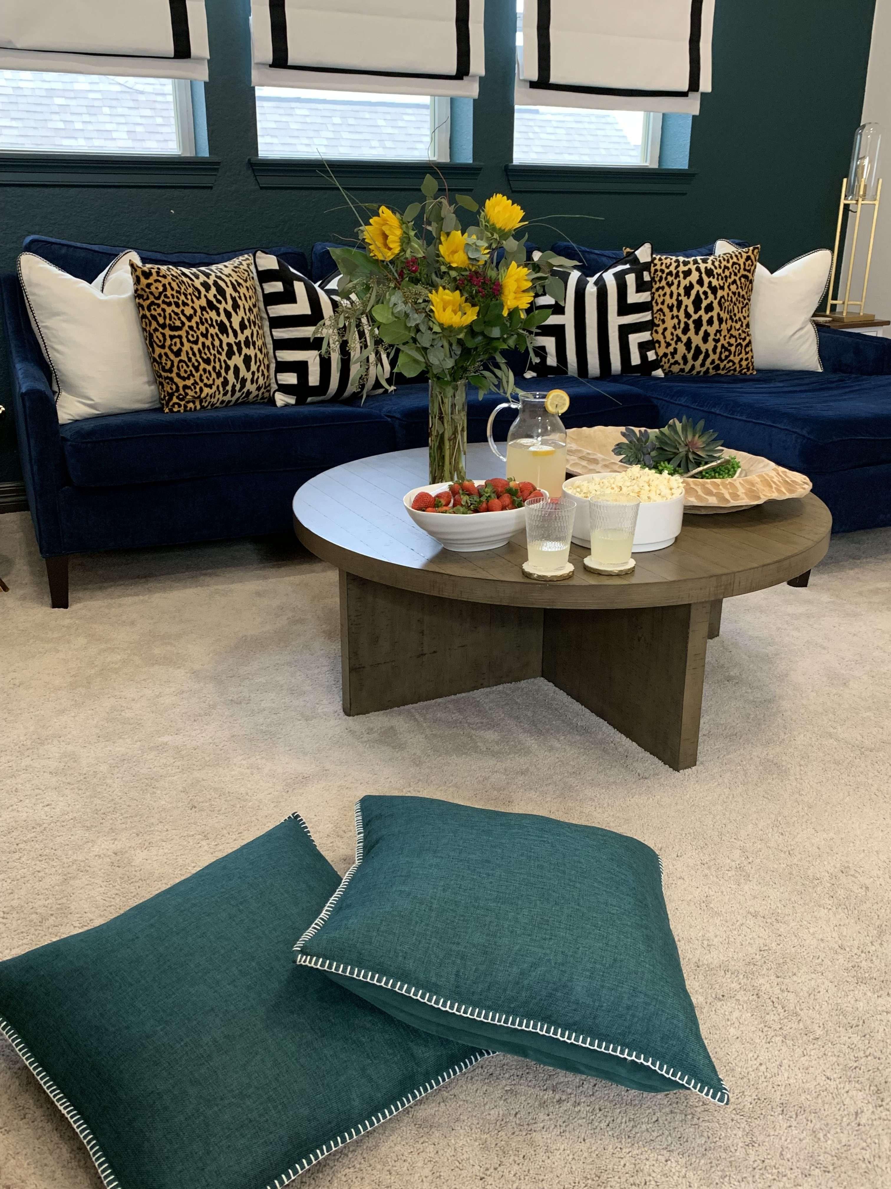Why You Deserve A Navy Blue Sofa - Melissa Roberts Interior ...