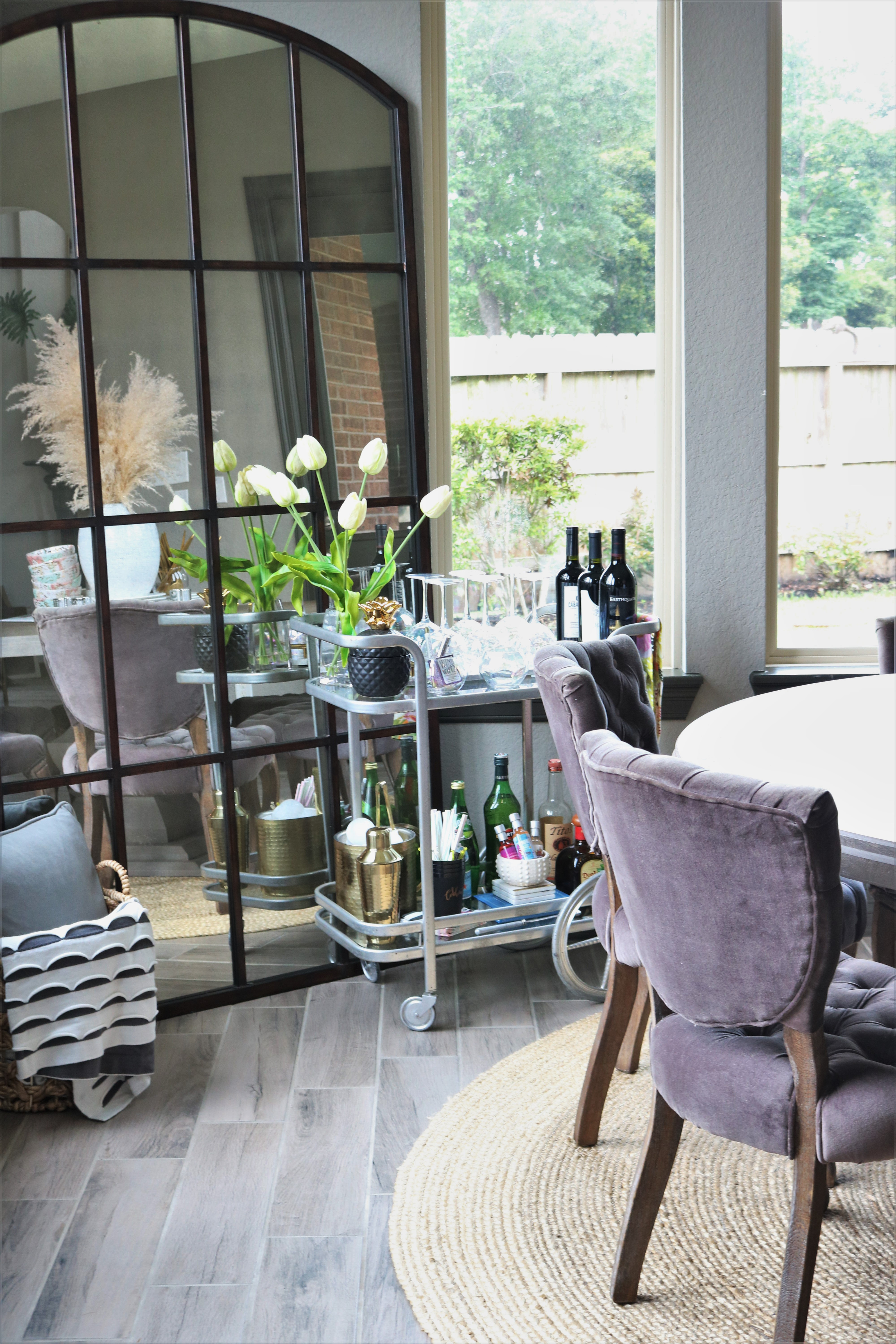 How To Style The Perfect Bar Cart Melissa Roberts Interior Design Home Decor Blog