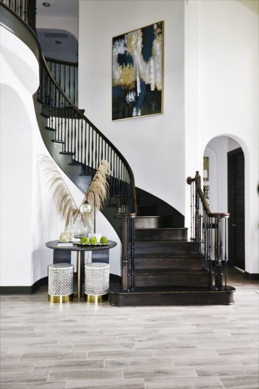 Revamped Entry Foyer E With A