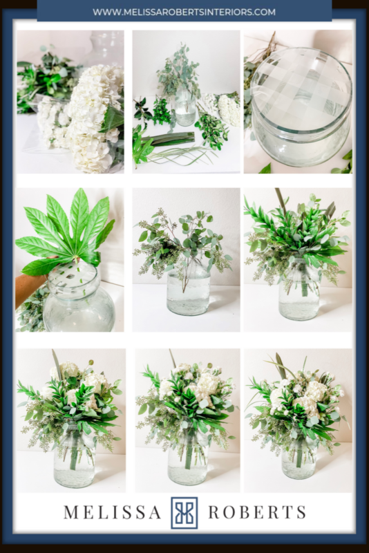 5 Minute Flower Arrangement Step By Step Picture Guide Melissa