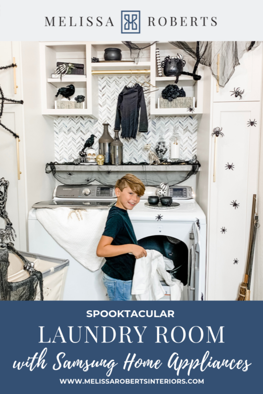 SPOOKTACULAR LAUNDRY ROOM Top Interior Bloggers In 2019