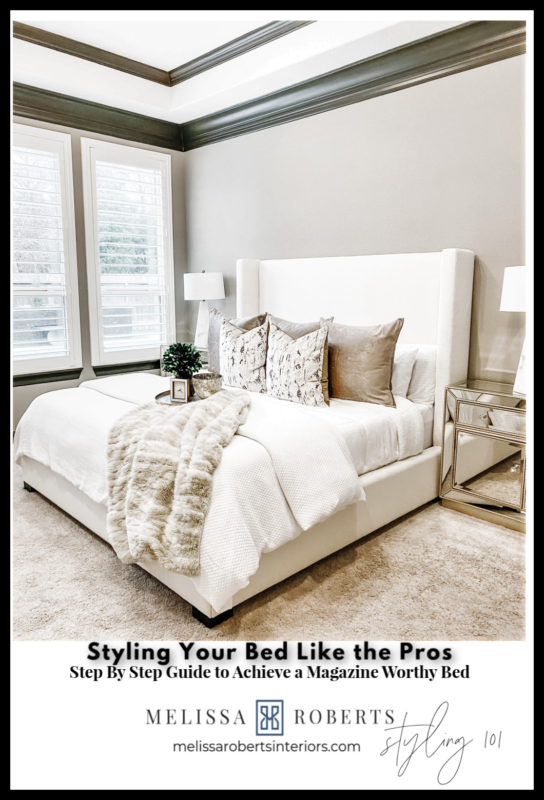 How To Style Your Bed Like A Pro Melissa Roberts Interior